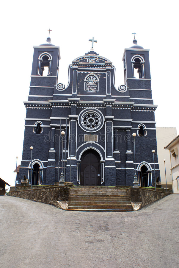 Cattedrale a Galle immagini stock libere da diritti