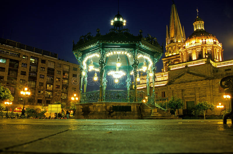Cattedrale Guadalajara, Messico immagini stock libere da diritti