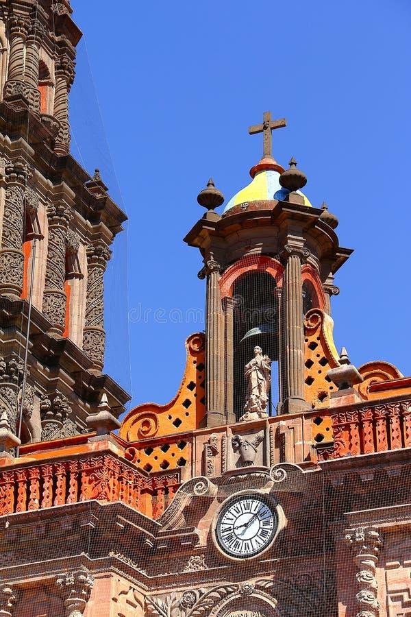 Cattedrale III di San Luis potosi fotografia stock