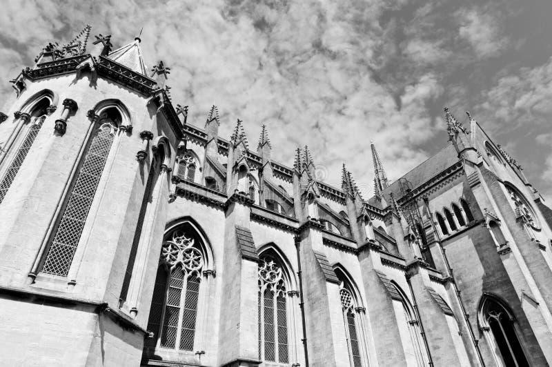 Cattedrale inglese fotografia stock
