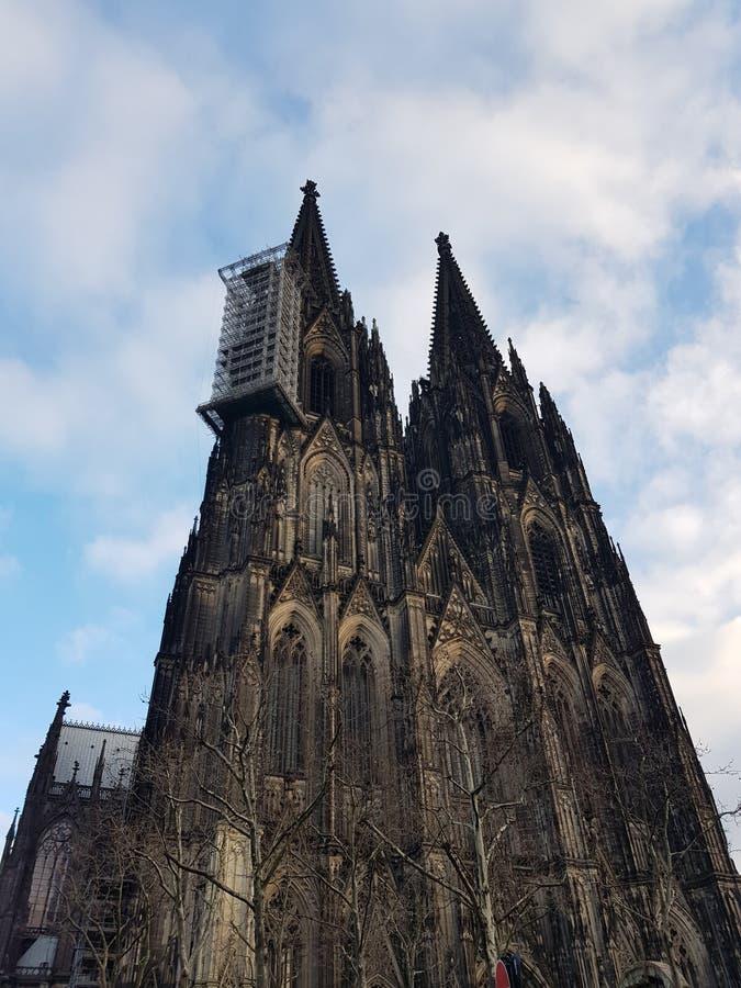 Cattedrale Kölner di Cologen/DOM di Koelner immagine stock