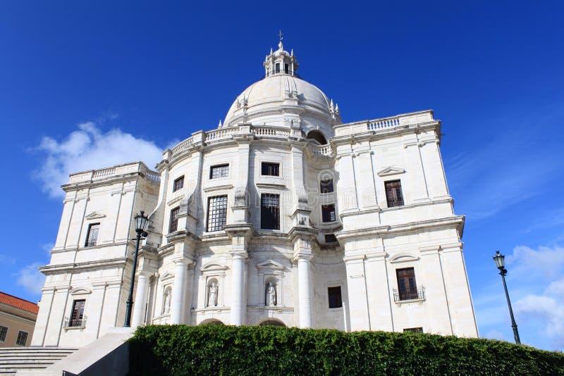 Cattedrale a Lisbona fotografie stock libere da diritti