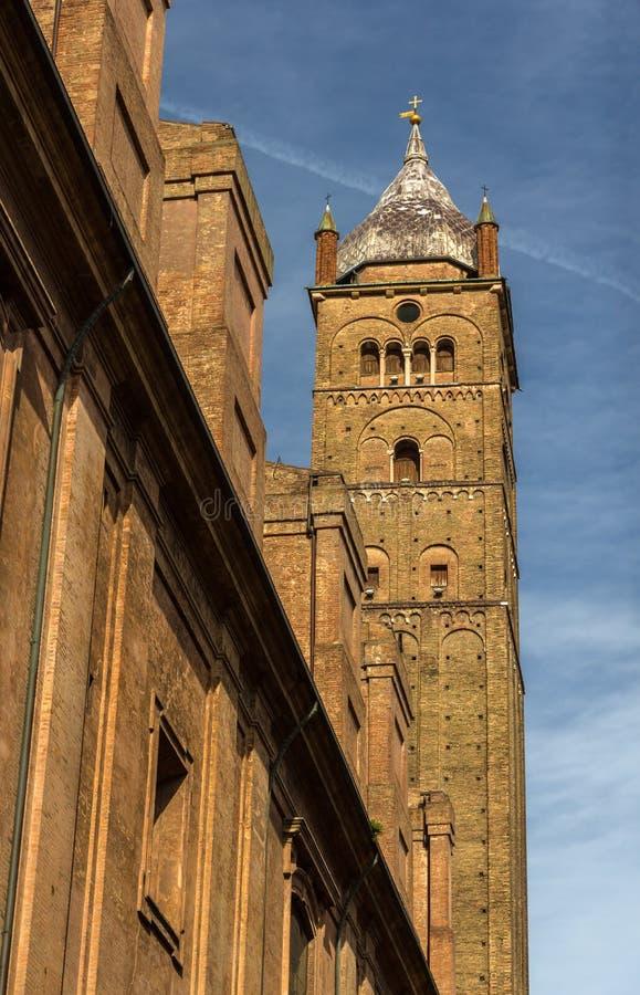 Cattedrale Metropolitana di San Pietro à Bologna, Italie photographie stock
