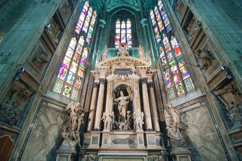 Cattedrale a Milano fotografia stock libera da diritti