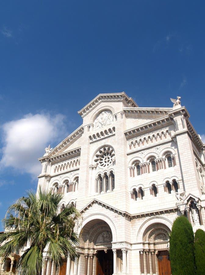 Cattedrale a Monte Carlo immagine stock libera da diritti