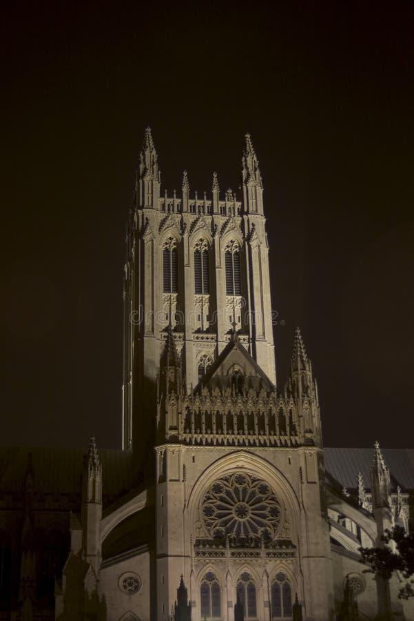Cattedrale nazionale fotografia stock