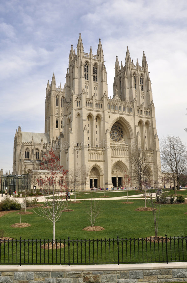 Cattedrale nazionale fotografia stock libera da diritti