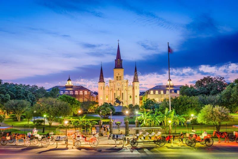 Cattedrale New Orleans di St Louis fotografia stock