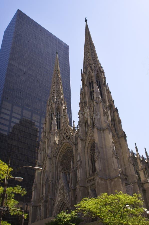 Cattedrale New York City della st Patrick fotografia stock