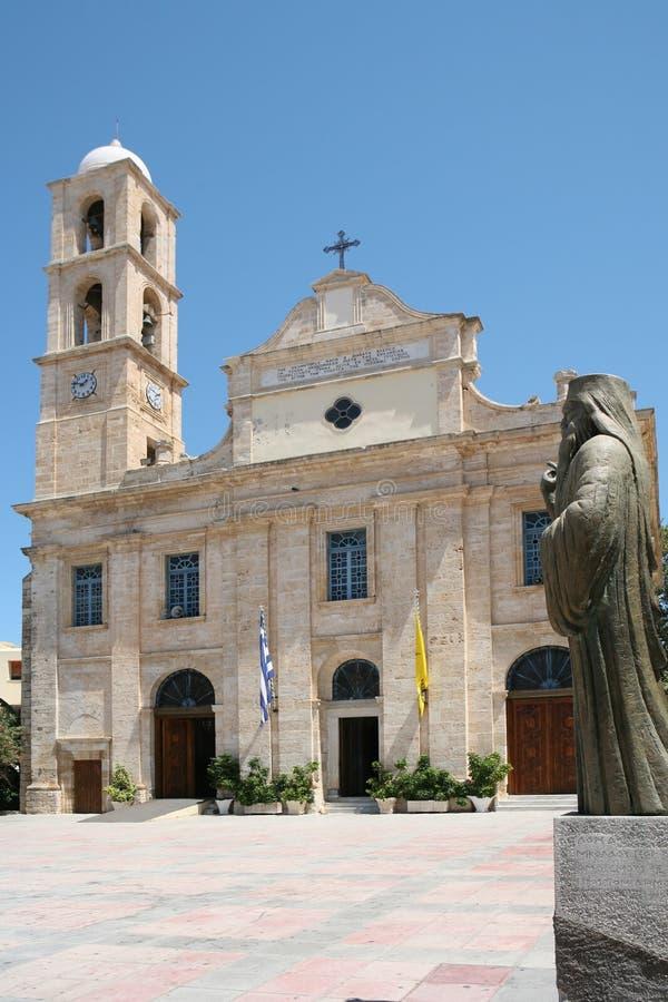 Download Cattedrale Ortodossa Di Chania Immagine Stock - Immagine di crete, ortodosso: 3127869