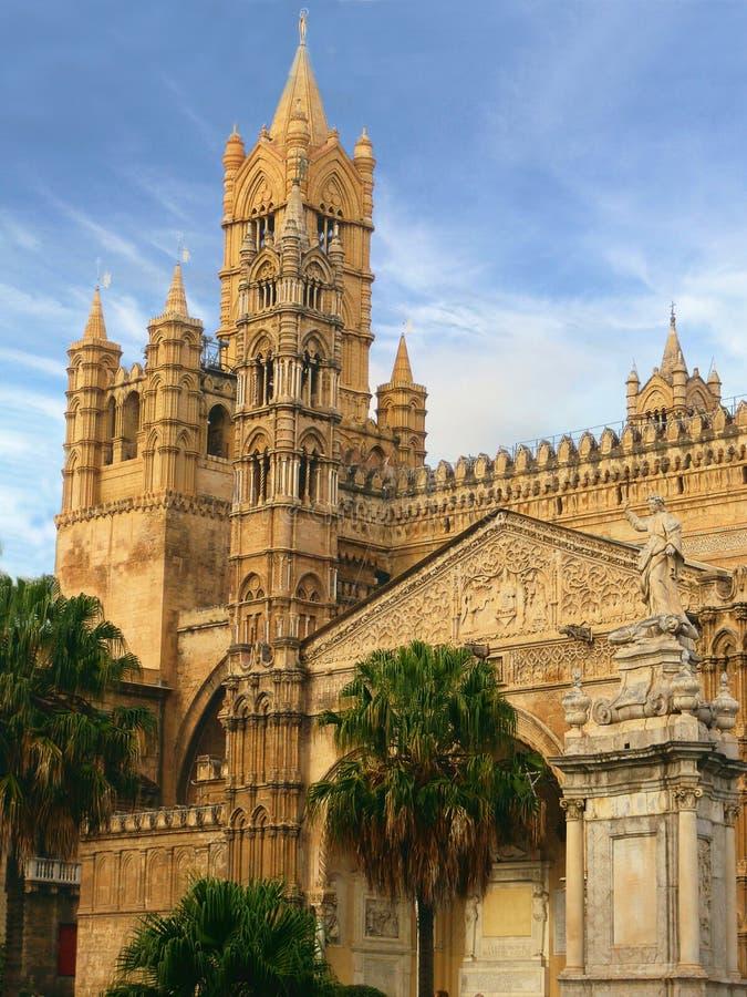 Cattedrale a Palermo fotografie stock