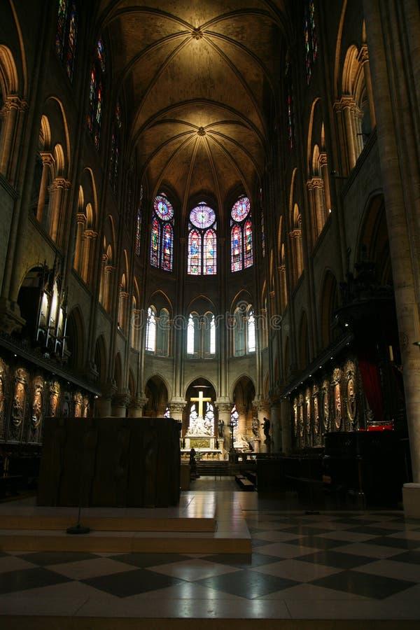 Cattedrale a Parigi fotografie stock