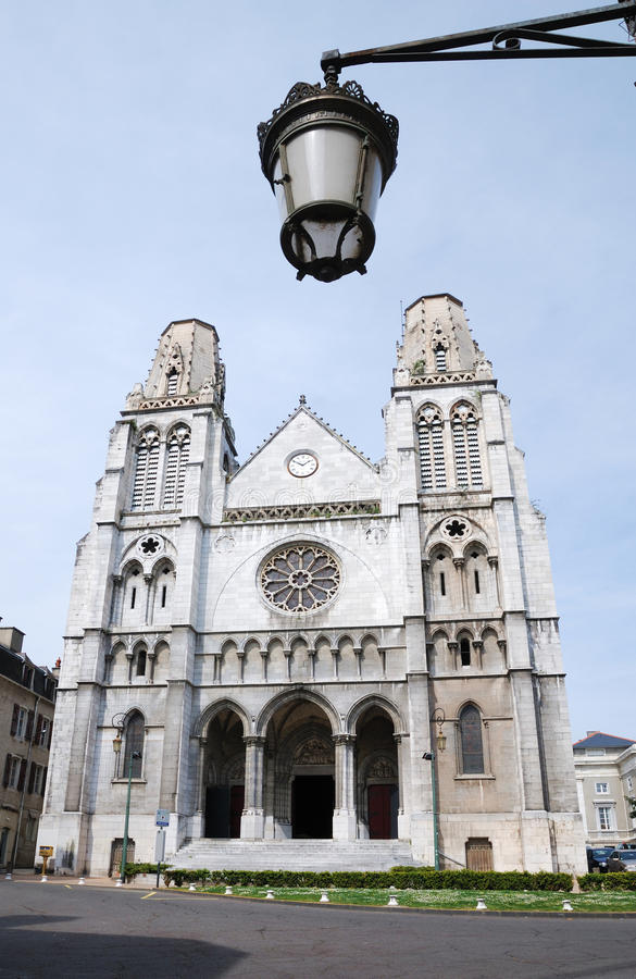 Cattedrale a Pau, Francia fotografia stock libera da diritti