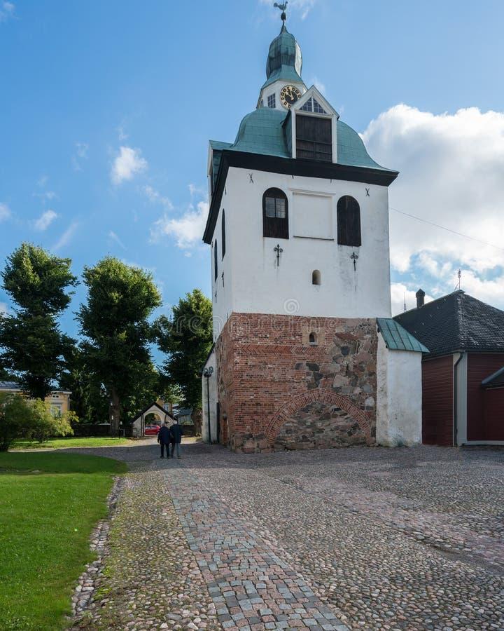 Cattedrale in Porvoo, Finlandia fotografie stock