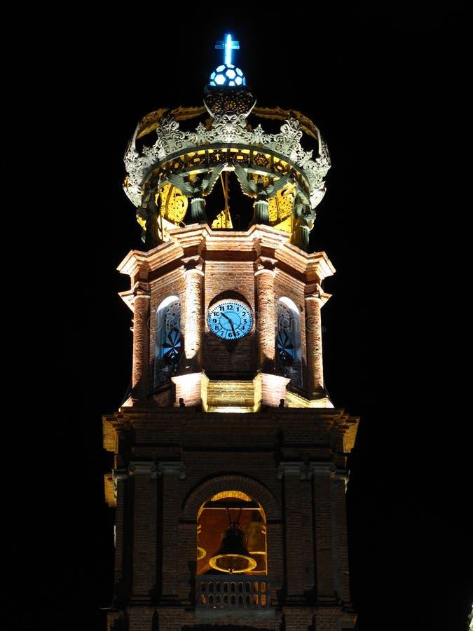 Cattedrale in Puerto Vallarta, Messico fotografia stock libera da diritti