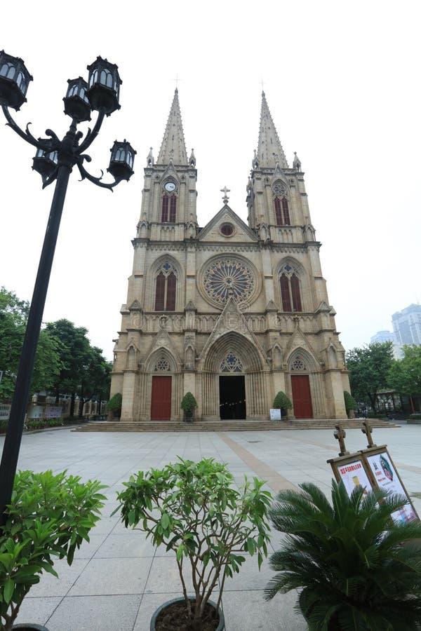 Cattedrale sacra 2 - Guangdong - Cina del cuore di Canton fotografie stock