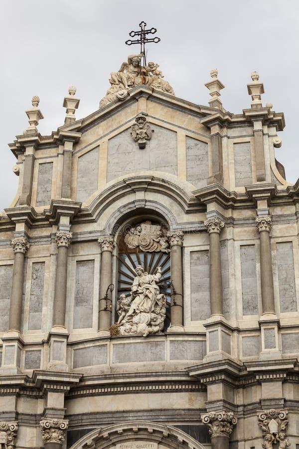 Cattedrale Santa Agata di Catania fotografie stock