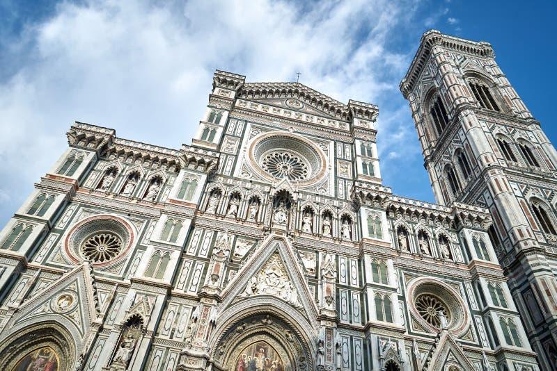 Cattedrale Santa Maria del Fiore, Toscana, Italia di Firenze fotografia stock libera da diritti