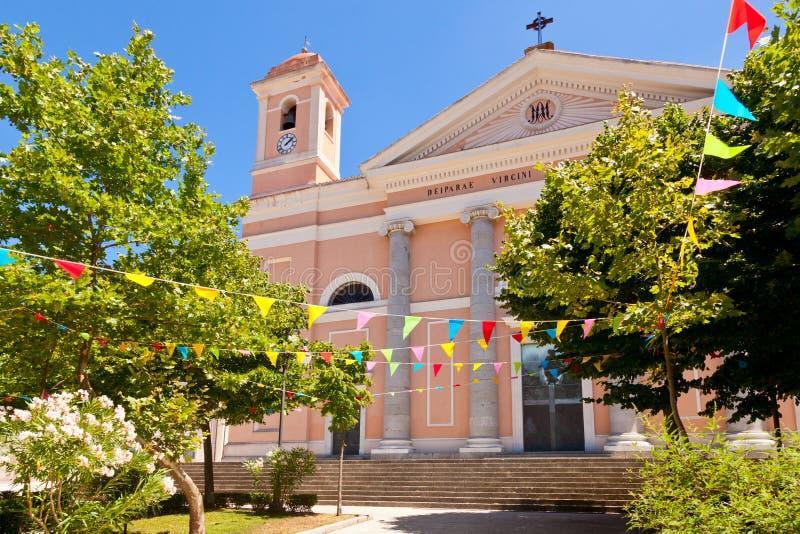 Cattedrale Santa Maria Della Neve imágenes de archivo libres de regalías