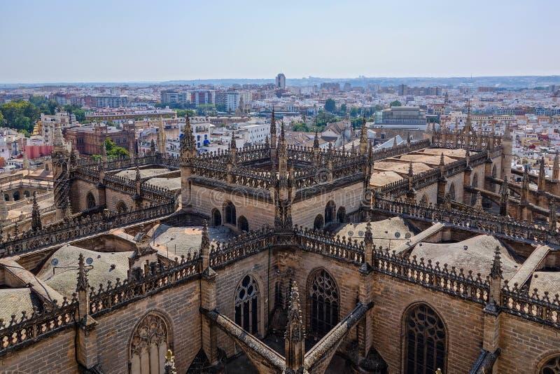 Cattedrale Sevilla fotografia stock libera da diritti