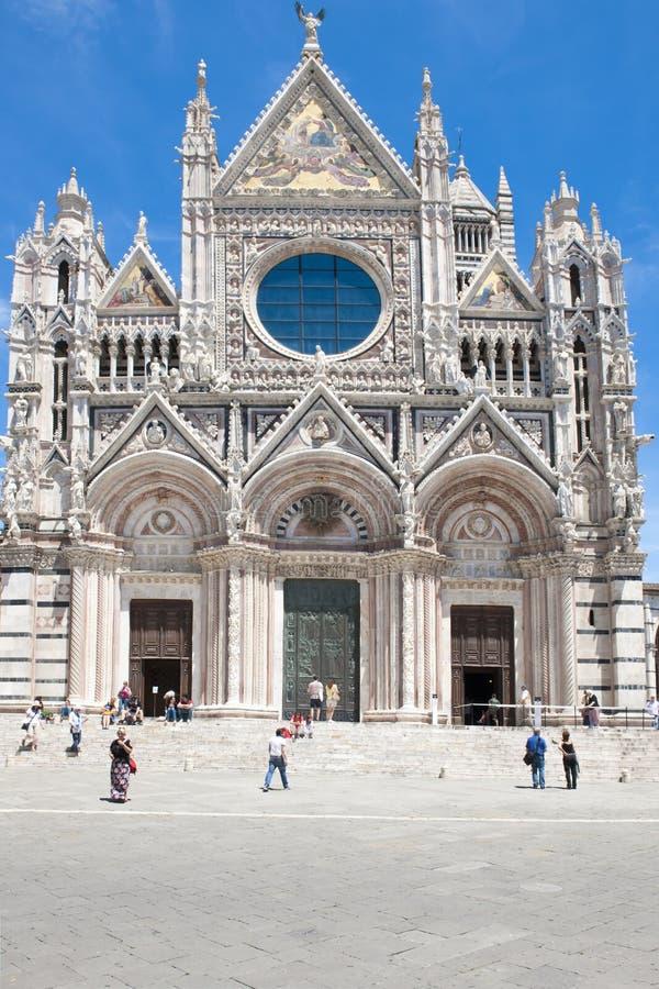 Cattedrale Siena fotografia stock