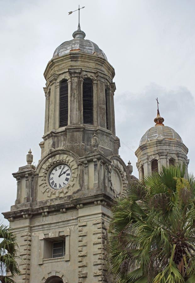 Cattedrale, St Johns, Antigua e Barbuda, caraibico fotografie stock