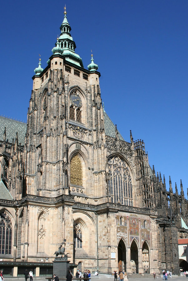 Cattedrale St.Vit. fotografia stock