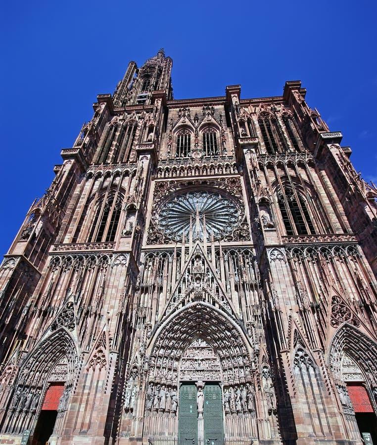 Cattedrale a Strasburgo immagine stock libera da diritti
