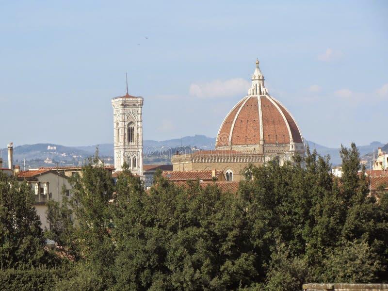 Cattedraledi Santa Maria de Fiore stock fotografie
