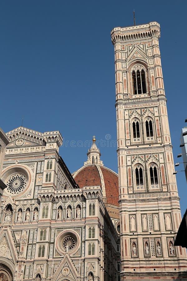 Cattedralen av Santa Maria del Fiore Florence royaltyfri bild