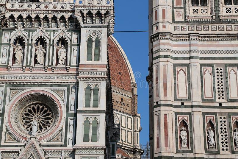 Cattedralen av Santa Maria del Fiore Florence fotografering för bildbyråer