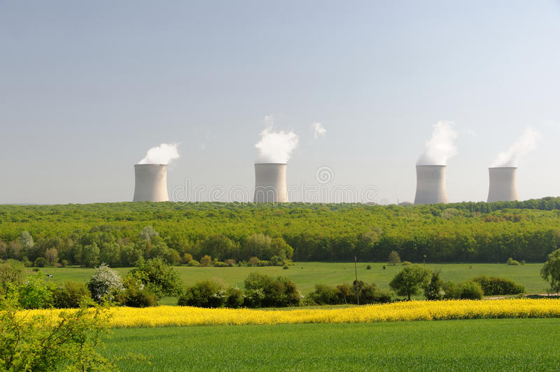 Download Cattenom Power Station stock image. Image of source, nuclear - 29363025