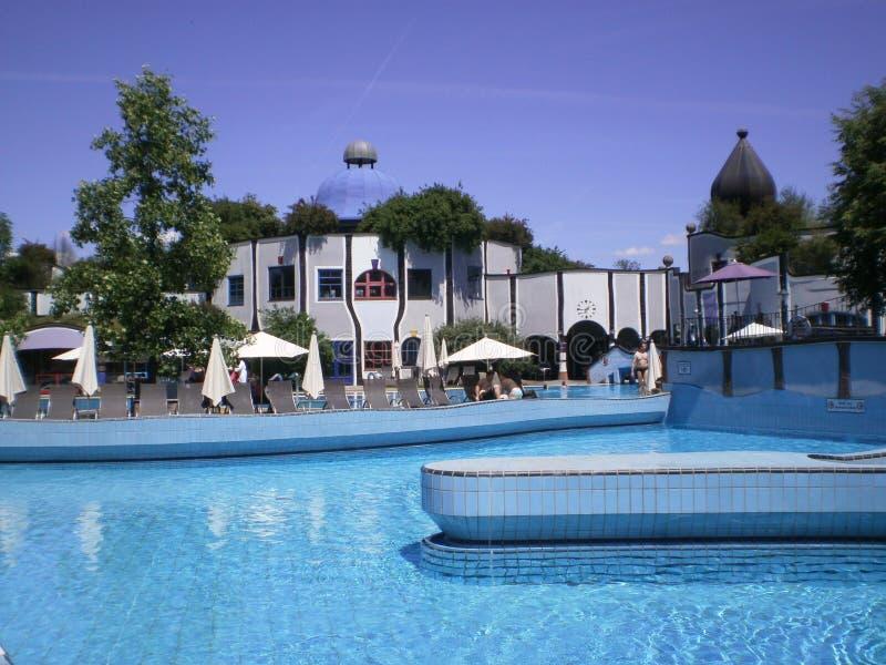 Cattivi _pools di Blumau fotografia stock