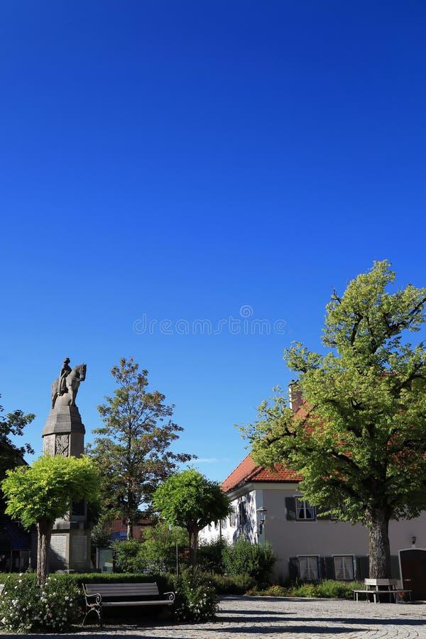 Cattivo Grönenbach è una città in Baviera fotografia stock