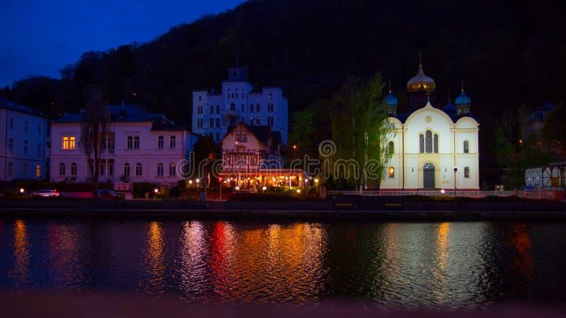 Cattivo SME, Germania, viste della città fotografia stock