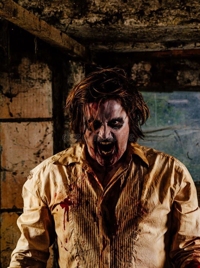 Cattivo zombie immagine stock