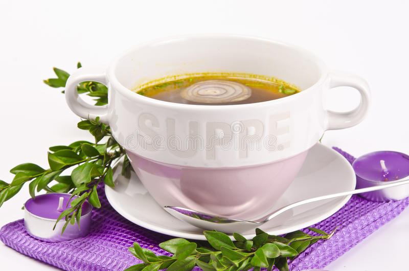 Cattle broth royalty free stock image