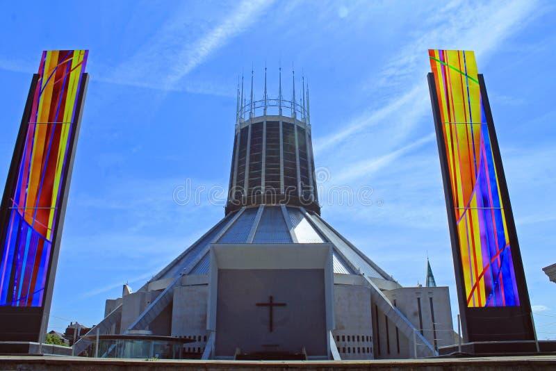 Cattolico della cattedrale fotografia stock