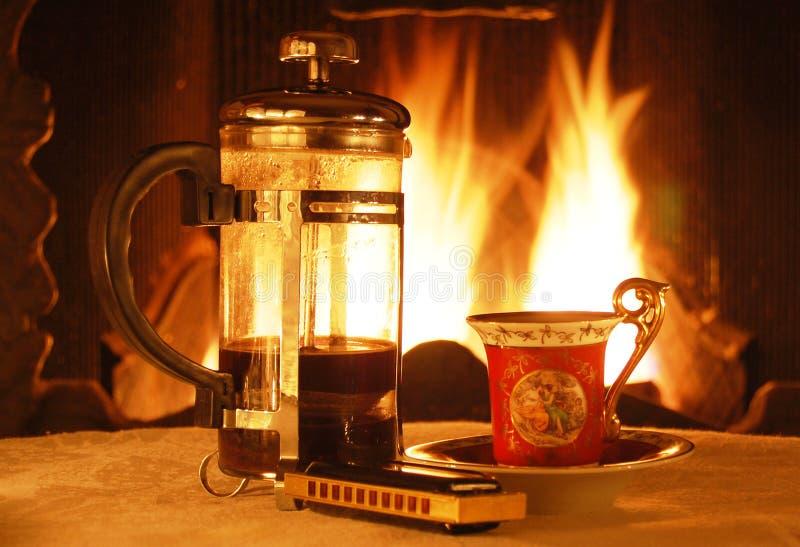 Cattura del caffè fotografia stock