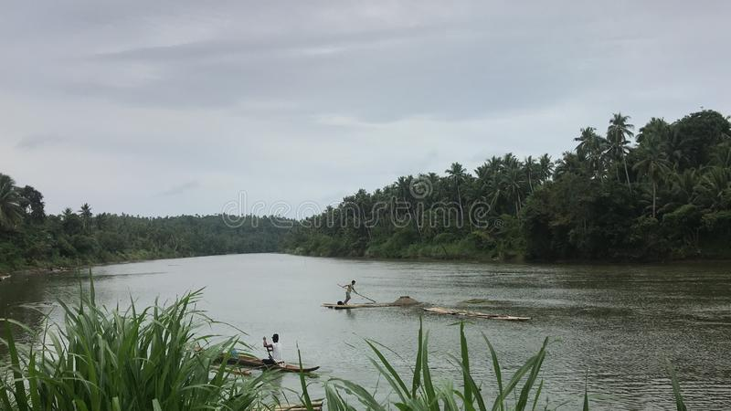 Catubig - a cidade nomeada 'água abundante ' fotos de stock royalty free