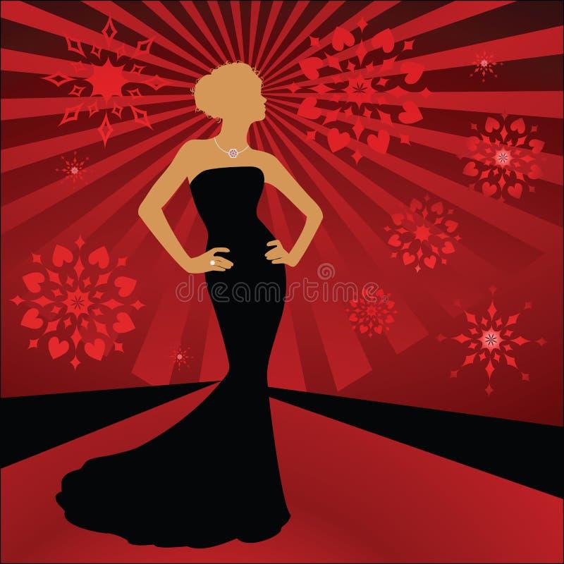 catwalk royaltyfri illustrationer