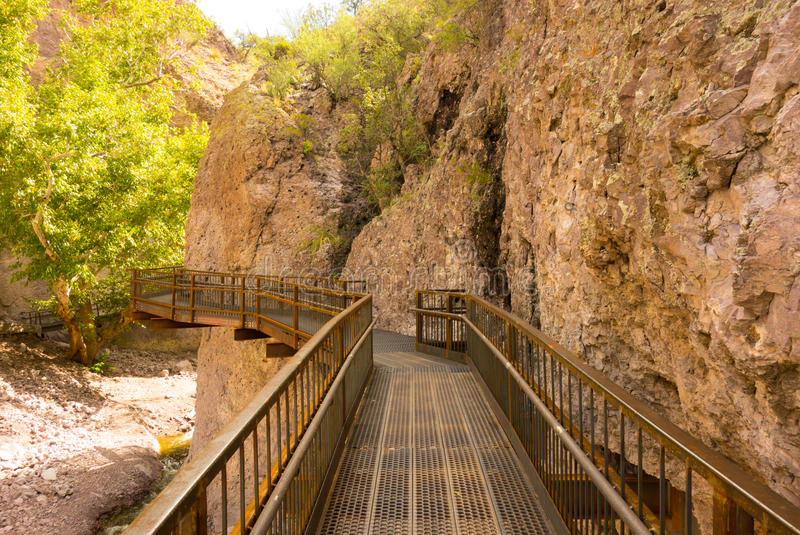 Download A Catwalk Across A Canyon In New Mexico Stock Photo - Image: 83712670
