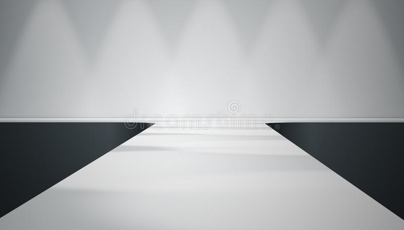 Catwalk stage vector illustration