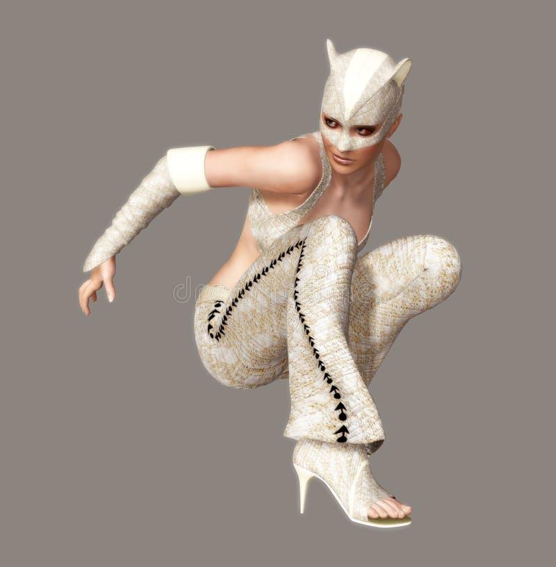 catwoman stock illustrationer