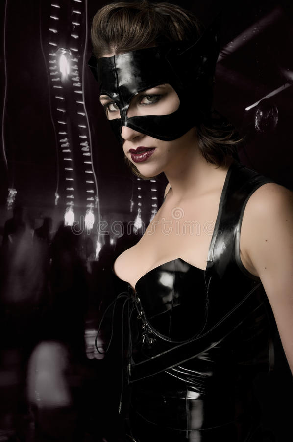 Catwoman obrazy stock