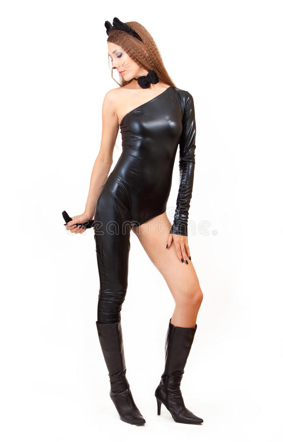 catwoman стоковое фото rf