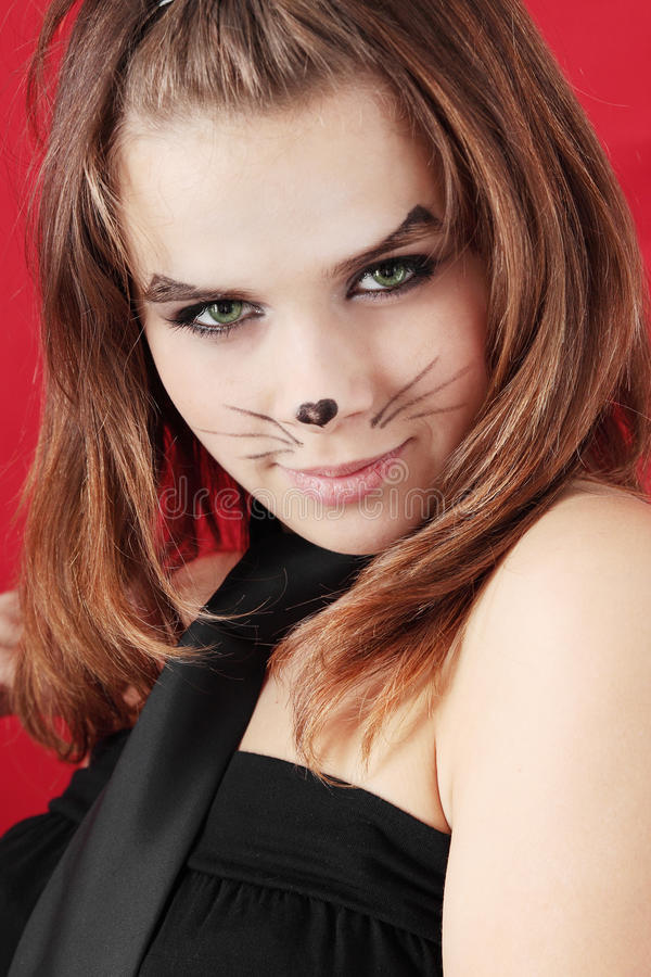 Download Catwoman stock image. Image of lady, human, dark, disguise - 17827587