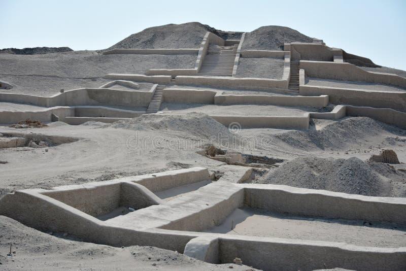 Cauachi губит около городка Nasca Перу стоковые фото