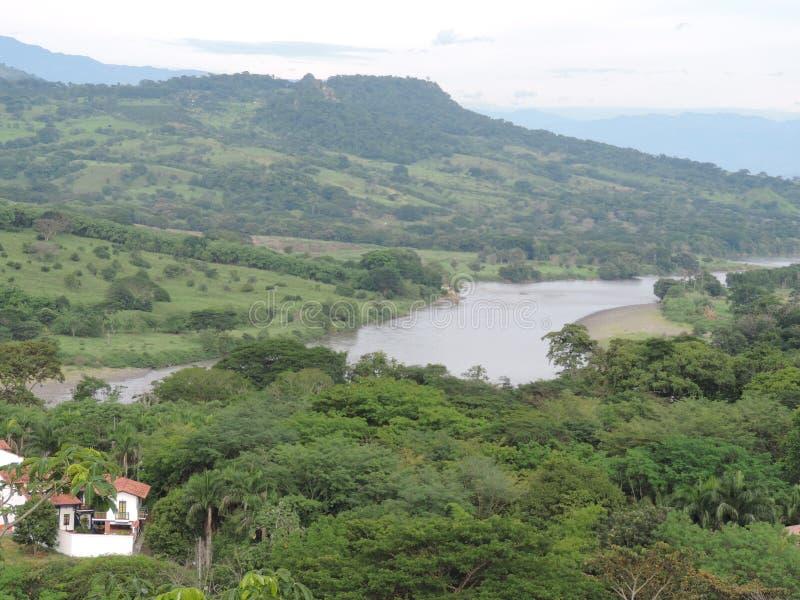 Cauca rzeka obraz stock