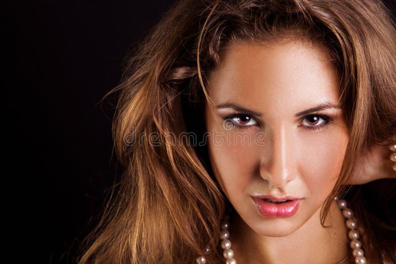 Download Caucasian Adult Woman Looking At Camera Royalty Free Stock Image - Image: 32831906